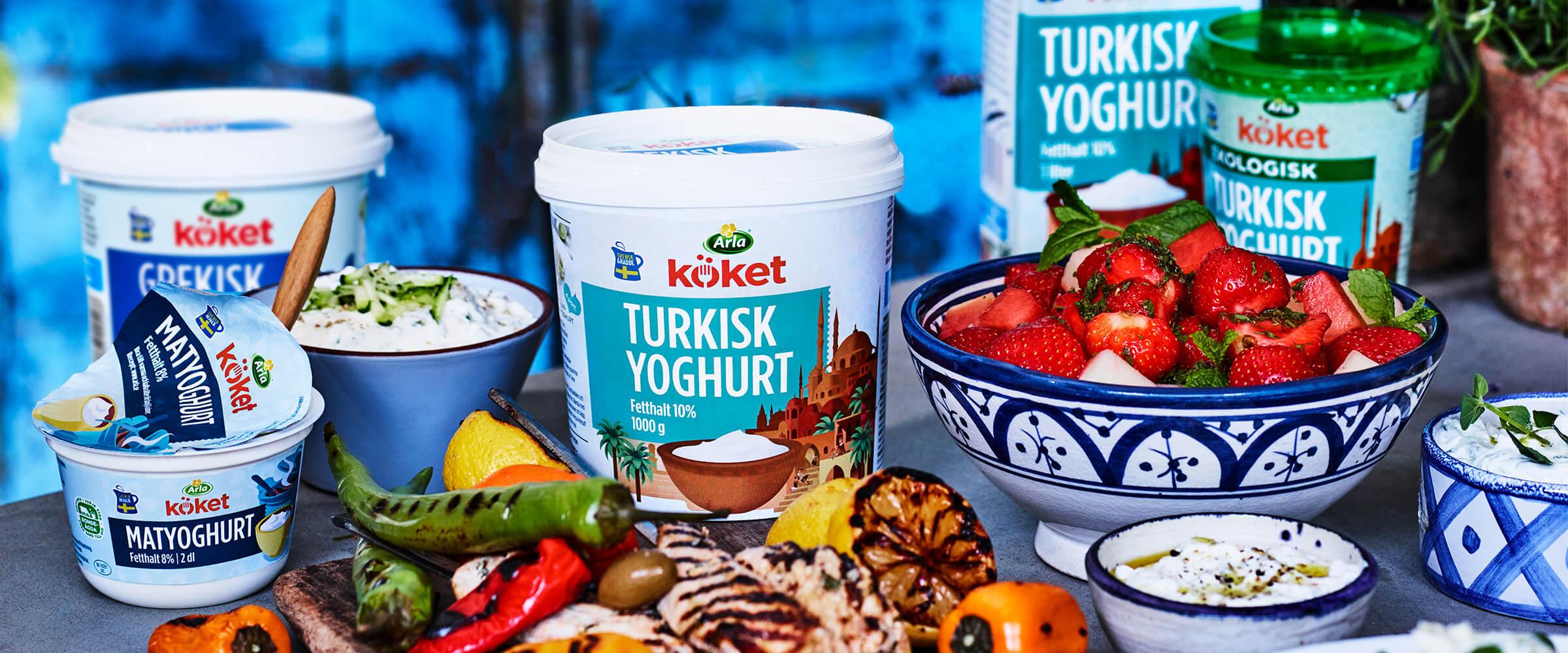kan man värma turkisk yoghurt
