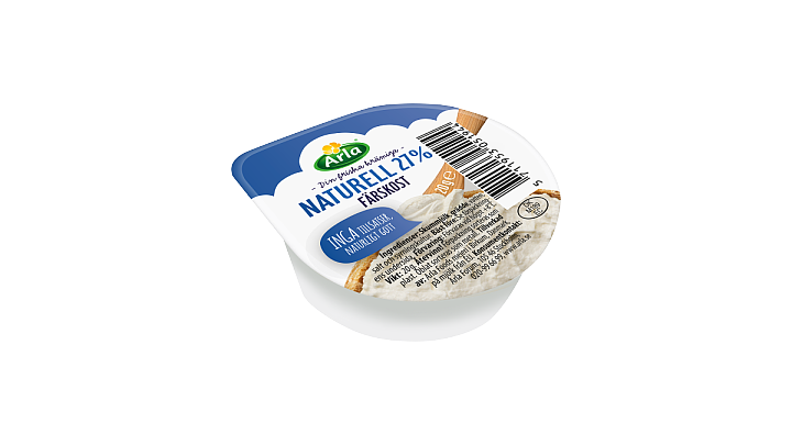 Arla® Färskost Naturell Portion 27%