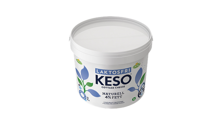 KESO® Cottage Cheese Laktosfri 4%