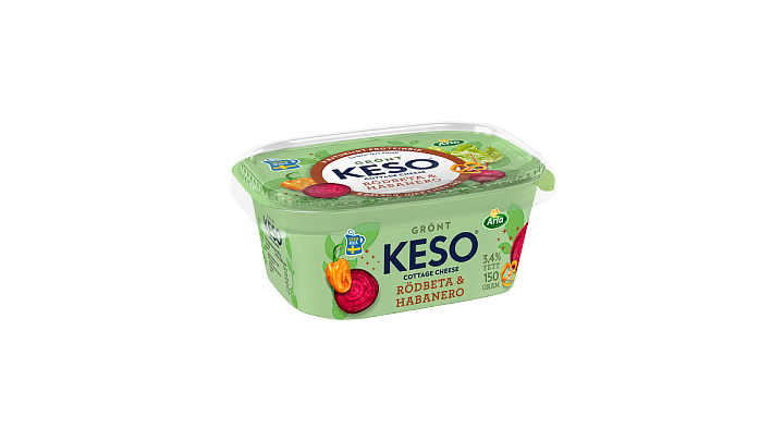 KESO® Cottage Cheese Rödbeta & Habanero