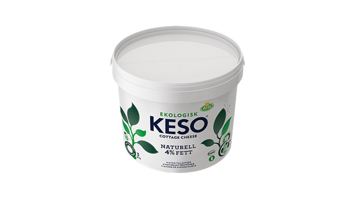 KESO® Cottage Cheese Ekologisk Naturell 4%