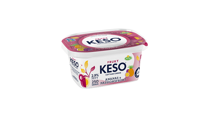 KESO® Cottage Cheese Ananas & Passionsfrukt