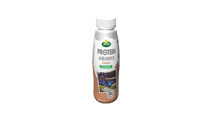 Arla® Protein Choklad lättsockrad mjölkdr