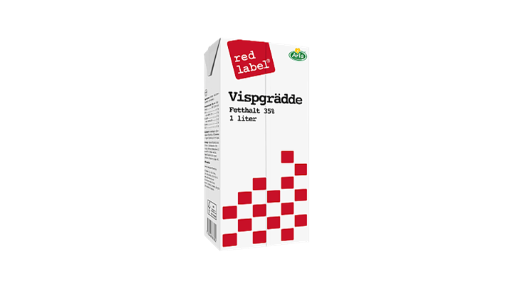 Red Label® Vispgrädde 35%