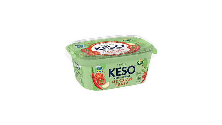 KESO® Cottage Cheese Mexican Salsa