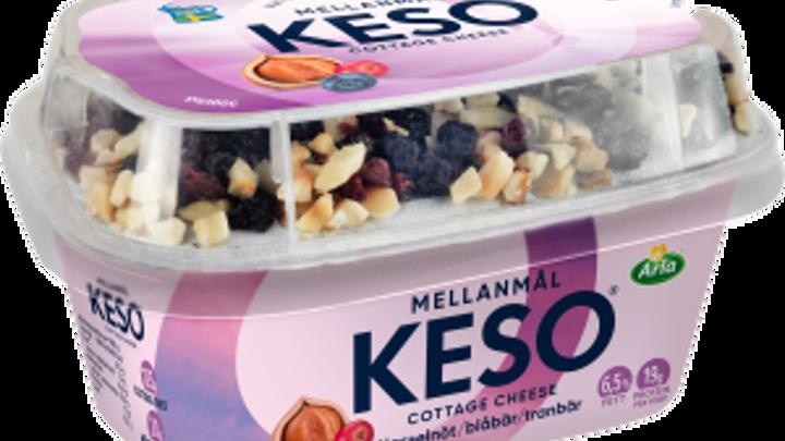 KESO® Cottage ch mellanm hassel blåb 6,5%