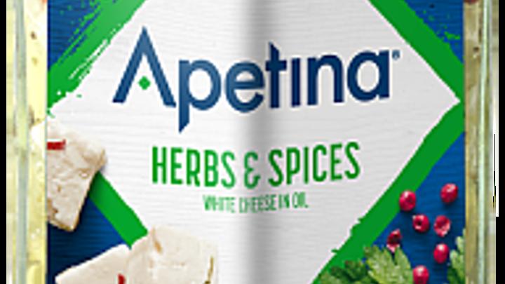 Apetina® Vitost tärnad i olja ört krydd 22%