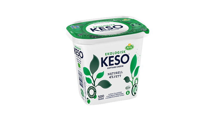 KESO® Cottage Cheese Ekologisk 4%