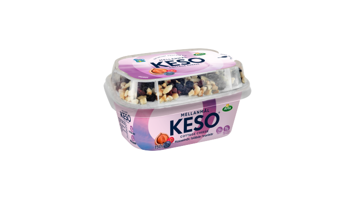 KESO® Mellanmål Hassel/blåb/tranbär
