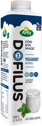 Arla® Dofilus yoghurt naturell 1,5%