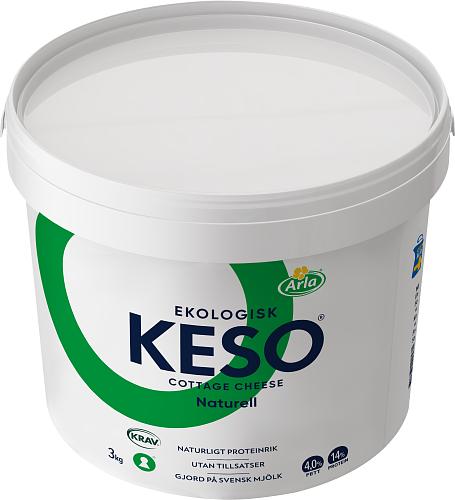 KESO® Eko cottage cheese 4% hink