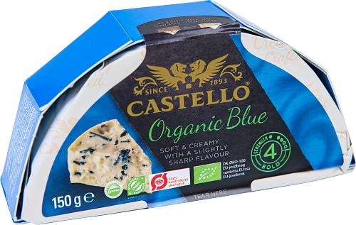 Castello® Organic blue ekologisk blåmögelost