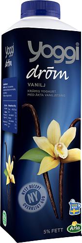 Yoggi® Dröm vaniljyoghurt