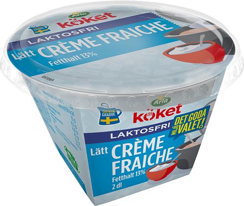 Arla Köket® Laktosfri lätt crème fraiche 13%