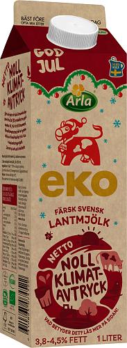 Arla Ko® Ekologisk Ekologisk färsk lantmjölk 3,8-4,5%