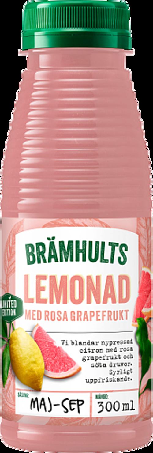 Brämhults Lemonad med rosa grapefrukt
