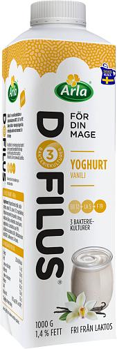 Arla® Dofilus yoghurt vanilj 1,4%
