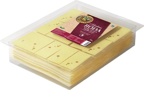 Wästgöta Kloster® Munkens Röda skivad ost