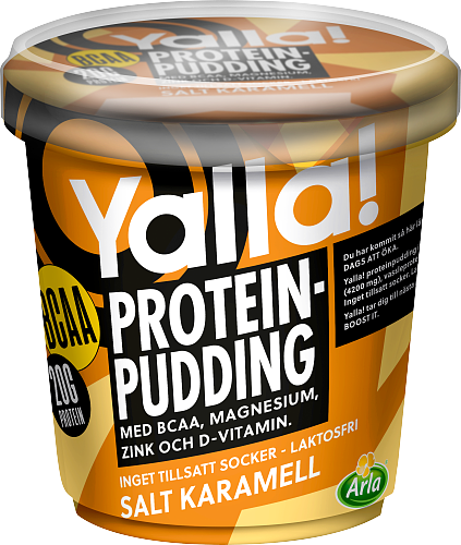 Yalla® Proteinpudding BCAA Salt karamell