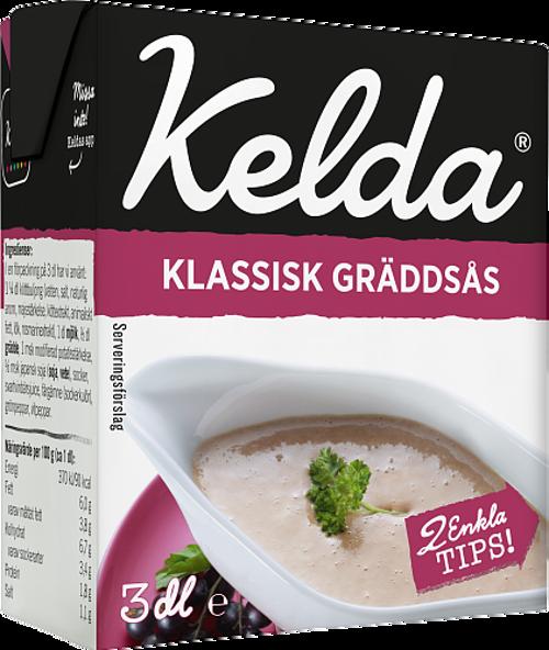 Kelda® Klassisk gräddsås 6%