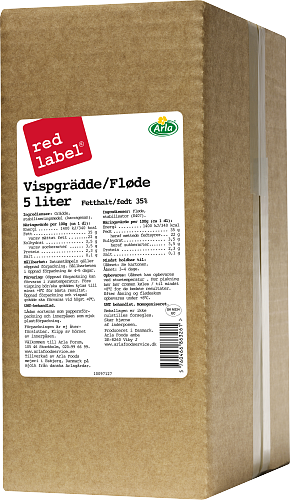 Red Label® Vispgrädde 35% BiB