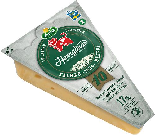 Arla Ko® Herrgård® 17% lagrad ost