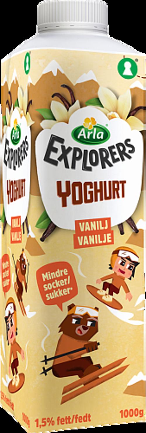 Arla® Explorers yoghurt vanilj