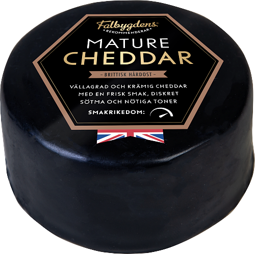 Falbygdens® Rekommenderar Cheddarpuck mature hårdost