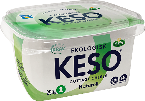 KESO® Eko cottage cheese 4%