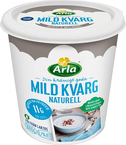 Yalla® Mild kvarg naturell 0,2%