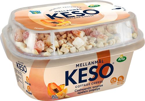 KESO® Cottage ch mellanm cashew ana 4,4%