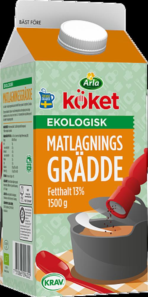 Arla Köket® ekologisk matlagningsgrädde 13 %