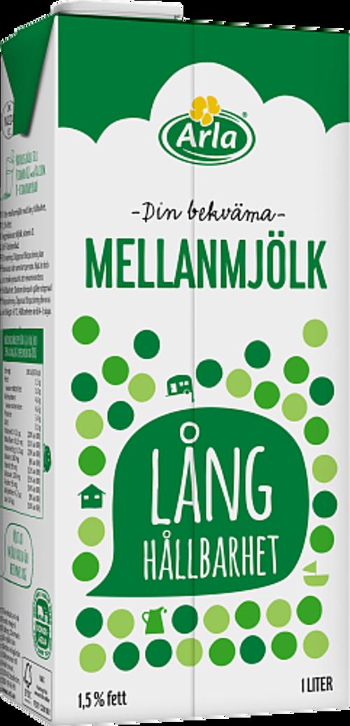 laktosfri mjölk lång hållbarhet