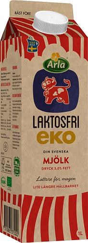Arla Ko® Laktosf eko standardmjölkdryck 3,0%
