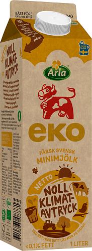 Arla Ko® Ekologisk Ekologisk färsk minimjölk 0,1%