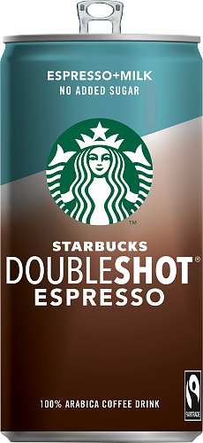 Starbucks® Doubleshot Espresso no added sugar