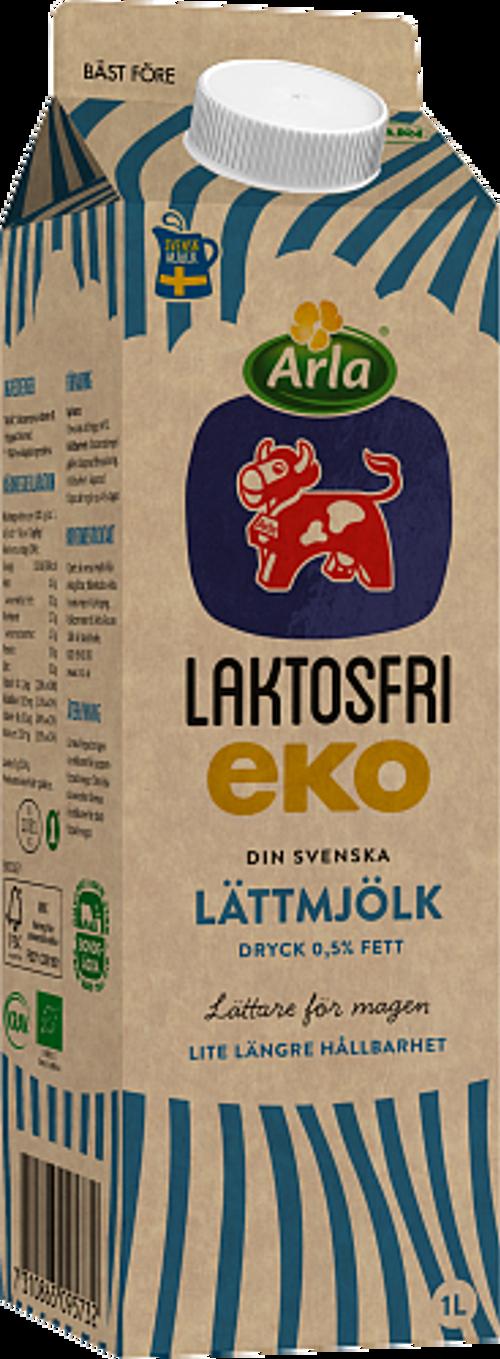 Arla Ko® Ekologisk Eko Laktosfri lättmjölk dryck 0,5%
