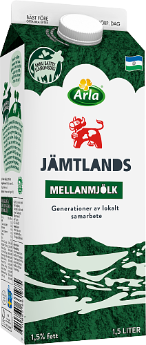 Arla Ko® Jämtlandsmellanmjölk 1,5%