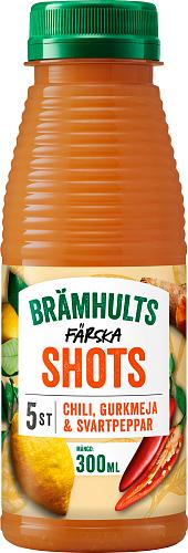 Brämhults Chili, Gurkmeja & Svartpeppar shots