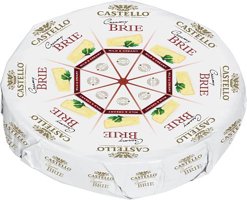 Castello® Creamy brie 34% vitmögelost