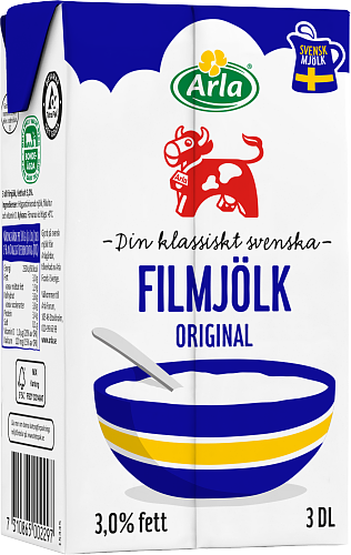 Arla Ko® Filmjölk 3% Portion