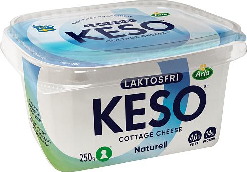 KESO® Laktosfri cottage cheese 4%