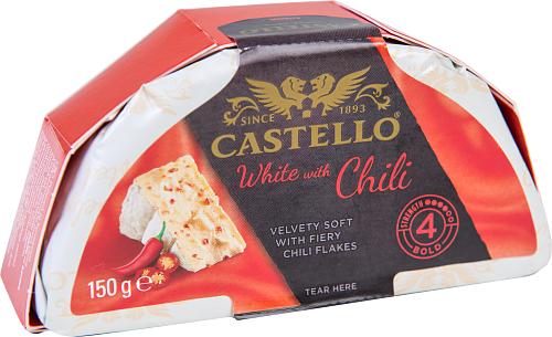 Castello® White chili vitmögelost