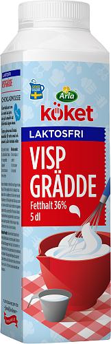Arla Köket® Laktosfri vispgrädde 36%