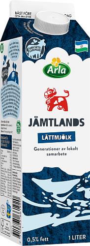 Arla Ko® Jämtlandslättmjölk 0,5%