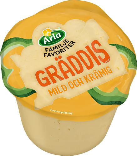 Arla® Familjefav Gräddis ost