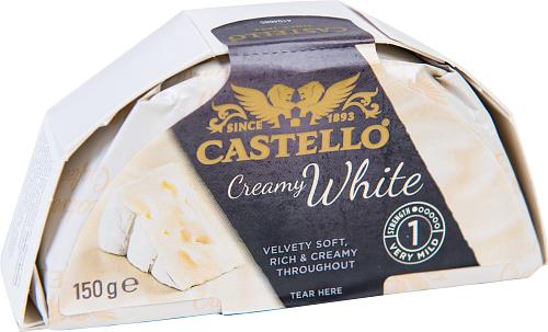 Castello® White vitmögelost