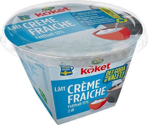 Arla Köket® Lätt crème fraiche 13%
