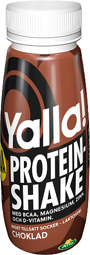 Yalla® Proteinshake BCAA choklad