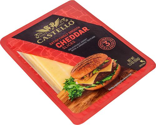 Castello® Burger Cheddar 35%
